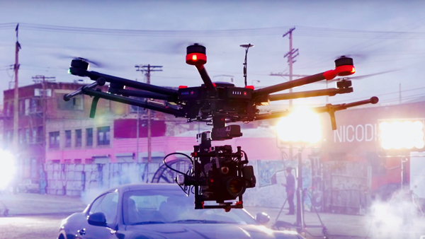 Empleo de drones para Audiovisuales en JOB TO DRON